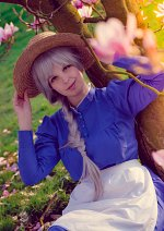 Cosplay-Cover: Sophie Hatter (blue dress)