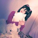 Cosplay: Nico Yazawa ⌠Animal Pyjama   unidolized #90⌡