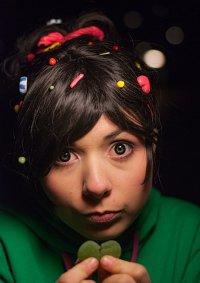 Cosplay-Cover: Vanellope von Schweetz [Wreck-It Ralph]