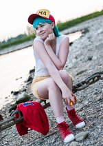 Cosplay-Cover: Bulma Briefs