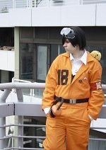 Cosplay-Cover: Hibari Kyouya [Orange Overall]