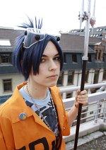 Cosplay-Cover: Mukuro Rokudo (Orange Jumpsuit Artwork)