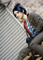Cosplay-Cover: Rokudo Mukuro (Kokuyo Uniform)