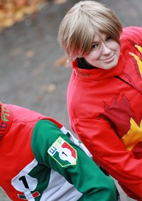 Cosplay-Cover: Lightning McQueen