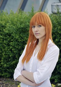 Cosplay-Cover: Pepper Potts (Stark Tower/The Avengers)
