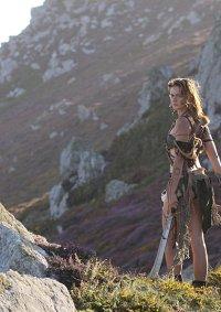 Cosplay-Cover: Keltische Amazone