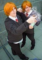 Cosplay-Cover: George Weasley [Feuerkelch]