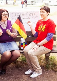 Cosplay-Cover: Amy Farrah Fowler