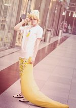 Cosplay-Cover: Kagamine Len [Sleep🌙 Over]