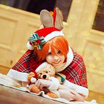 Cosplay: Rin Hoshizora [Christmas Bells]