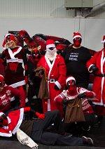 Cosplay-Cover: Deadpool Christmas Edition