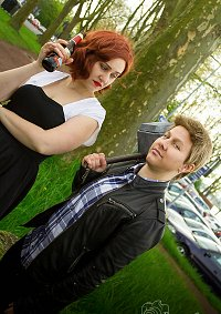 Cosplay-Cover: Black Widow (Age of Ultron Jam Session)