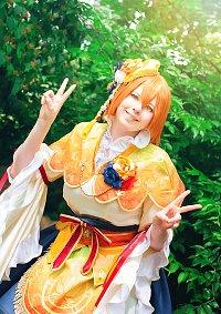 Cosplay-Cover: Rin Hoshizora [Lucky Gods]