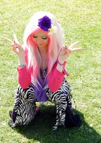 Cosplay-Cover: Pink Flower