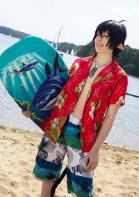 Cosplay-Cover: Rin Okumura Beach Version