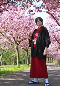 Cosplay-Cover: Mitsurugi Reiji (Japanische Kleidung)