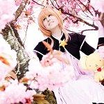 Cosplay: Sakura Kinomoto ~*~ final battle manga version ~*~