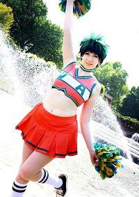 Cosplay-Cover: Izuku Midoriya [Cheerleader]