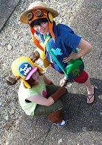 Cosplay-Cover: Monkey D. Luffy [Strong World]