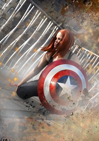 Cosplay-Cover: Natasha Romanoff (Winter Soldier)
