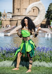 Cosplay-Cover: Maui (female)