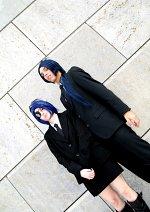 Cosplay-Cover: Mukuro Rokudo [Black Suit]