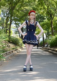 Cosplay-Cover: Cherry Blue Sailor [LizLisa]