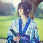 Cosplay: Sasuke Uchiha [Kimono] Design by Horrorkissen