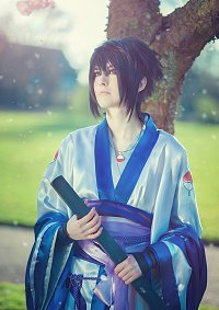 Cosplay-Cover: Sasuke Uchiha [Kimono] Design by Horrorkissen
