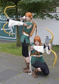 Cosplay-Cover: Waldelfe