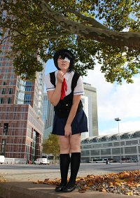 Cosplay-Cover: Misaki Mei **Sommer-Schuluniform**