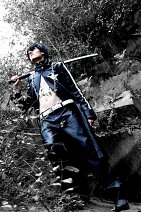 Cosplay-Cover: Black Rock Shooter (Male-Version)