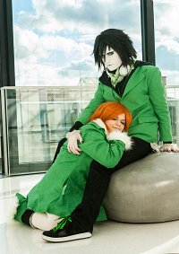 Cosplay-Cover: Ulquiorra Cifer (Valentine´s Outfit)