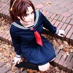 Cosplay: Kazuha Toyama (Winterschuluniform)