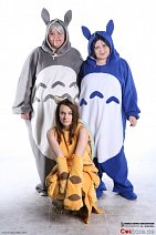 Cosplay-Cover: Totoro (blau)