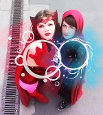 Cosplay-Cover: Wanda Maximoff / Scarlet Witch