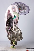 Cosplay-Cover: Kumadori - Kabuki style