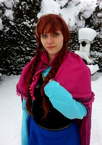 Cosplay-Cover: Princess Anna of Arendelle [Winter]