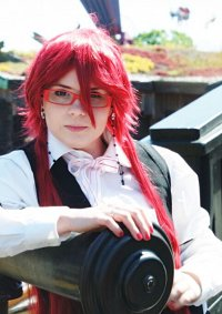 Cosplay-Cover: Grell Sutcliff