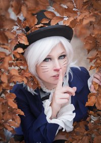 Cosplay-Cover: Weißes Kaninchen