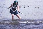 Cosplay-Cover: Michiru [Sailor Neptun]