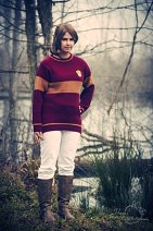 Cosplay-Cover: Katie Bell (Quidditch)