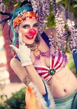Cosplay-Cover: Buggy der Clown (Female Bellydancer Eigendesign)