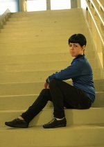 Cosplay-Cover: Spock [New Generation]