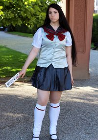 Cosplay-Cover: Rei Hino Sommerschuluniform
