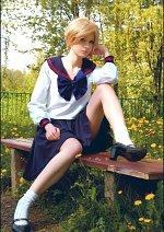 Cosplay-Cover: Haruka Tenoh (High School Uniform)