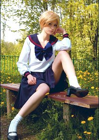Cosplay-Cover: Haruka Tenoh (High School Uniform)
