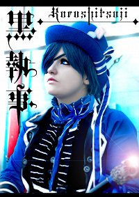 Cosplay-Cover: Ciel Phantomhive - Action Figur [Earl Blue]