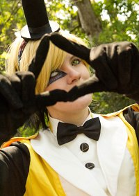 Cosplay-Cover: Bill Cipher [life-writer Version]