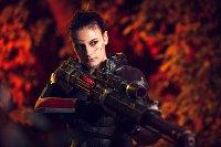Cosplay-Cover: Renegade Commander Shepard